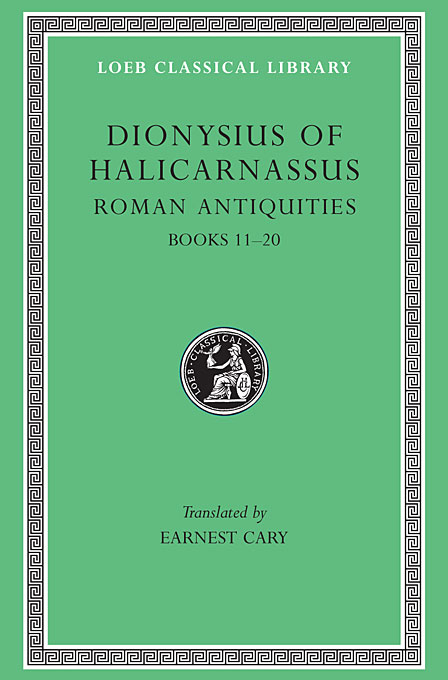 Cover: Roman Antiquities, Volume VII: Books 11-20, from Harvard University Press