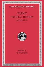 Cover: Natural History, Volume IX: Books 33-35 in HARDCOVER