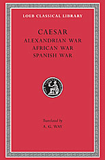 Cover: Alexandrian War. African War. Spanish War in HARDCOVER