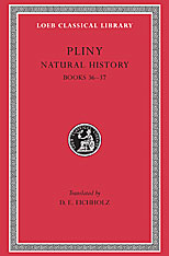 Cover: Natural History, Volume X: Books 36-37