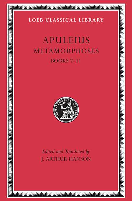 Cover: Metamorphoses (The Golden Ass), Volume II: Books 7-11, from Harvard University Press