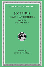 Cover: Jewish Antiquities, Volume IX: Book 20