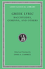 Cover: Greek Lyric, Volume IV: Bacchylides, Corinna, and Others in HARDCOVER