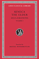 Cover: Declamations, Volume I: Controversiae, Books 1-6