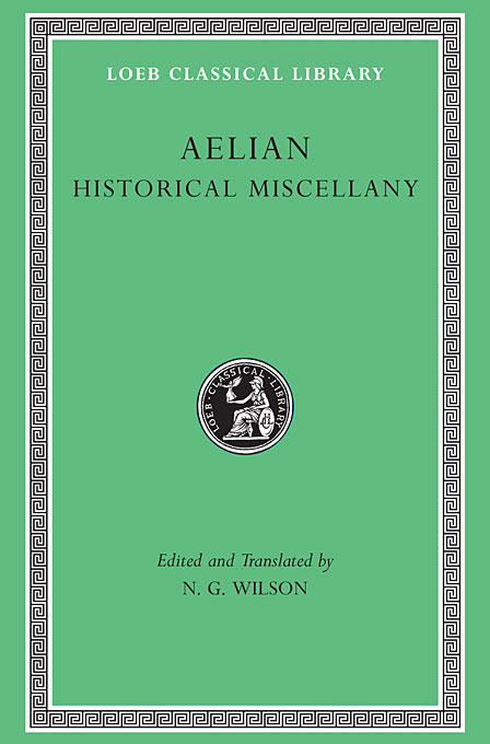 Cover: Historical Miscellany, from Harvard University Press