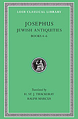 Cover: Jewish Antiquities, Volume II in HARDCOVER