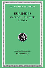 Cover: Cyclops. Alcestis. Medea in HARDCOVER
