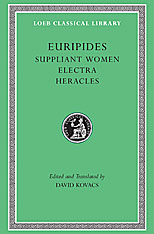 Cover: Suppliant Women. Electra. Heracles in HARDCOVER