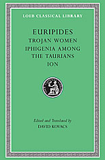 Cover: Trojan Women. Iphigenia among the Taurians. Ion in HARDCOVER
