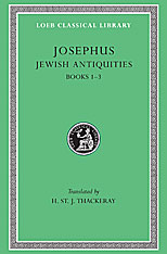 Cover: Jewish Antiquities, Volume I in HARDCOVER