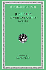 Cover: Jewish Antiquities, Volume III: Books 7-8