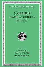 Cover: Jewish Antiquities, Volume VII: Books 16-17