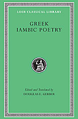 Cover: Greek Iambic Poetry: From the Seventh to the Fifth Centuries BC