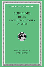 Cover: Helen. Phoenician Women. Orestes in HARDCOVER