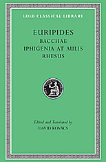 Cover: Bacchae. Iphigenia at Aulis. Rhesus