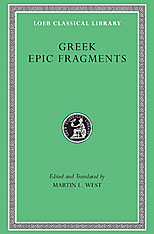 Cover: Greek Epic Fragments in HARDCOVER