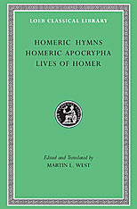 Cover: Homeric Hymns. Homeric Apocrypha. Lives of Homer in HARDCOVER