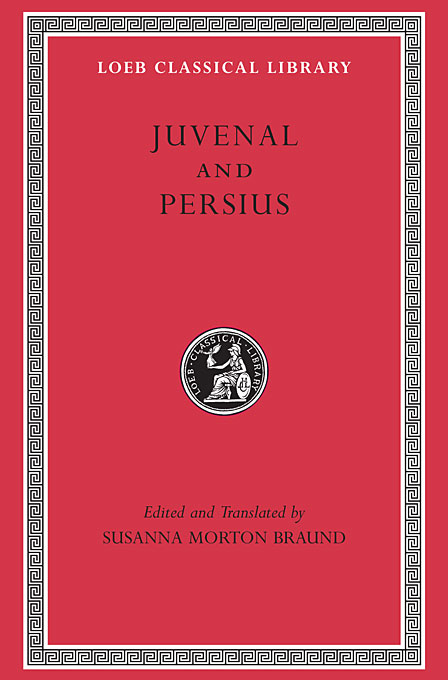 Cover: Juvenal and Persius, from Harvard University Press