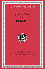 Cover: Juvenal and Persius in HARDCOVER