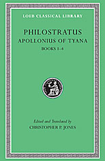 Cover: Apollonius of Tyana, Volume I in HARDCOVER