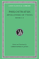 Cover: Apollonius of Tyana, Volume II: Life of Apollonius of Tyana, Books 5-8