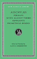 Cover: Persians. Seven against Thebes. Suppliants. Prometheus Bound in HARDCOVER