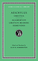 Cover: Oresteia: Agamemnon. Libation-Bearers. Eumenides in HARDCOVER