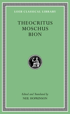 Cover: Theocritus. Moschus. Bion in HARDCOVER