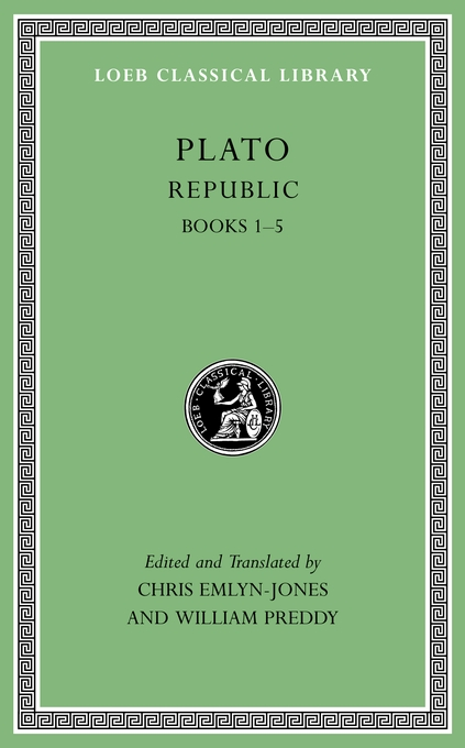 Cover: Republic, Volume I: Books 1-5, from Harvard University Press
