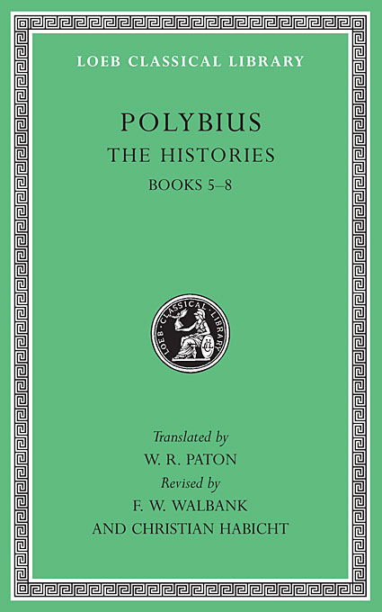 Cover: The Histories, Volume III: Books 5-8, from Harvard University Press