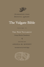 Cover: The Vulgate Bible, Volume VI: The New Testament in HARDCOVER