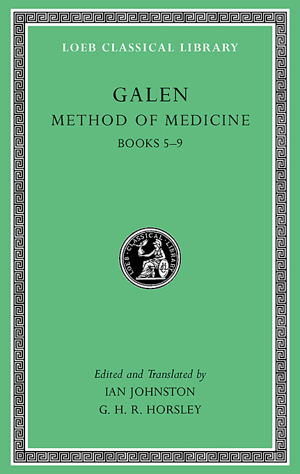 Cover: Method of Medicine, Volume II: Books 5-9, from Harvard University Press