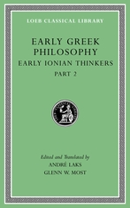 Cover: Early Greek Philosophy, Volume III in HARDCOVER