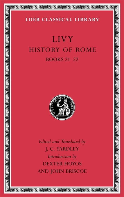 Cover: History of Rome, Volume V: Books 21–22, from Harvard University Press