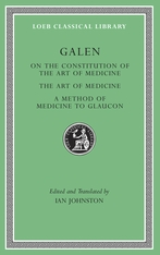 Cover: On the Constitution of the Art of Medicine. The Art of Medicine. A Method of Medicine to Glaucon