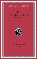 Cover: History of Rome, Volume XI: Books 38–40