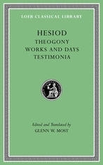 Cover: Theogony. Works and Days. Testimonia