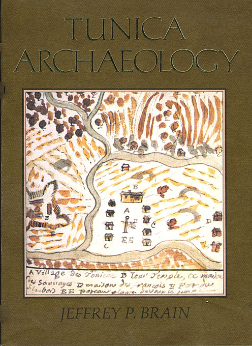 Cover: Tunica Archaeology, from Harvard University Press