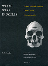 Cover: Who's Who in Skulls: Ethnic Identification of Crania from Measurements