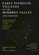 Cover: Early Pithouse Villages of the Mimbres Valley and Beyond: The McAnally and Thompson Sites in Their Cultural and Ecological Contexts