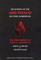 Cover: Excavation of the Abri Pataud, Les Eyzies (Dordogne), Volume 3: The Périgordian VI (Level 3) Assemblage