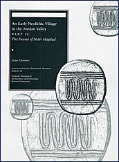 Cover: An Early Neolithic Village in the Jordan Valley, Part II: The Fauna of Netiv Hagdud in PAPERBACK