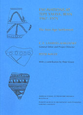 Cover: Excavations at Tepe Yahya, Iran, 1967-1975, Volume IV: The Iron Age Settlement