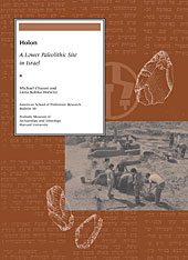 Cover: Holon: A Lower Paleolithic Site in Israel