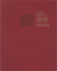 Cover: Corpus of Maya Hieroglyphic Inscriptions, Volume 2: Part 1: Naranjo in PAPERBACK
