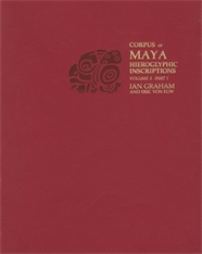 Cover: Corpus of Maya Hieroglyphic Inscriptions, Volume 3: Part 1: Yaxchilan in PAPERBACK