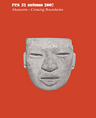 Cover: Res: Anthropology and Aesthetics, 52: Fall 2007 in PAPERBACK