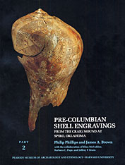 Cover: Pre-Columbian Shell Engravings from the Craig Mound at Spiro, Oklahoma, Part 2 in PAPERBACK