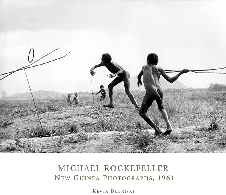 Cover: Michael Rockefeller: New Guinea Photographs, 1961, from Harvard University Press