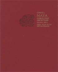 Cover: Corpus of Maya Hieroglyphic Inscriptions, Volume 5: Part 2: Xultun in PAPERBACK